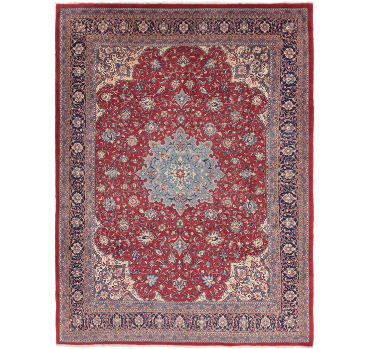 297cm x 395cm Sarough Persian Rug