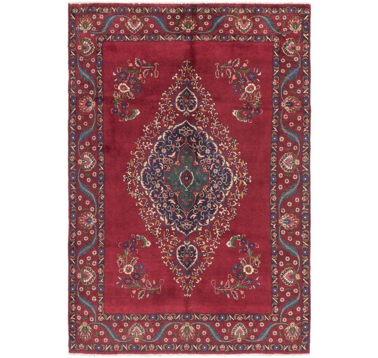 6' 5 x 9' 5 Tabriz Persian Rug