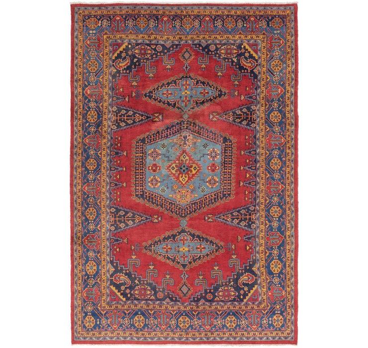 257cm x 385cm Viss Persian Rug