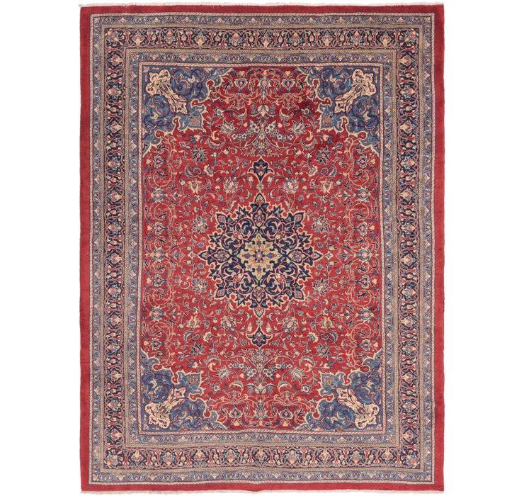 9' 10 x 13' 4 Sarough Persian Rug