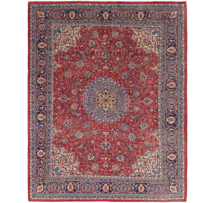 9' 10 x 12' 8 Sarough Persian Rug