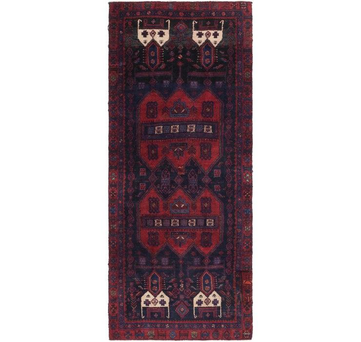 4' 4 x 10' 7 Sirjan Persian Runner Rug