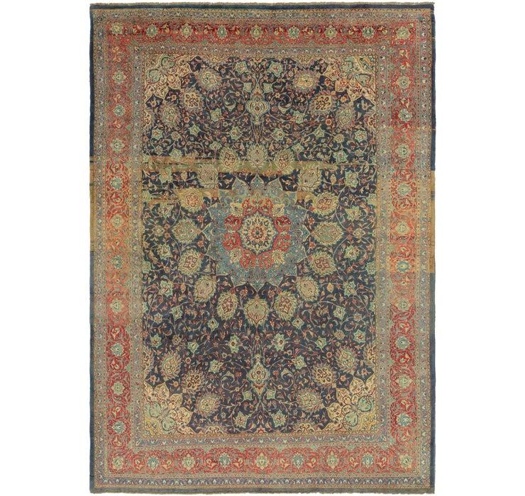9' 9 x 13' 10 Sarough Persian Rug