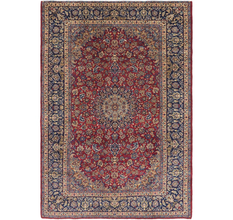 9' 10 x 14' 2 Isfahan Persian Rug