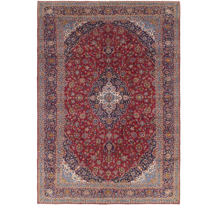 300cm x 435cm Kashan Persian Rug