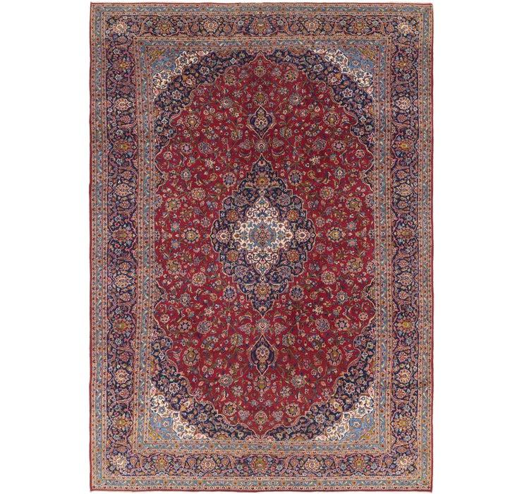 9' 10 x 14' 3 Kashan Persian Rug