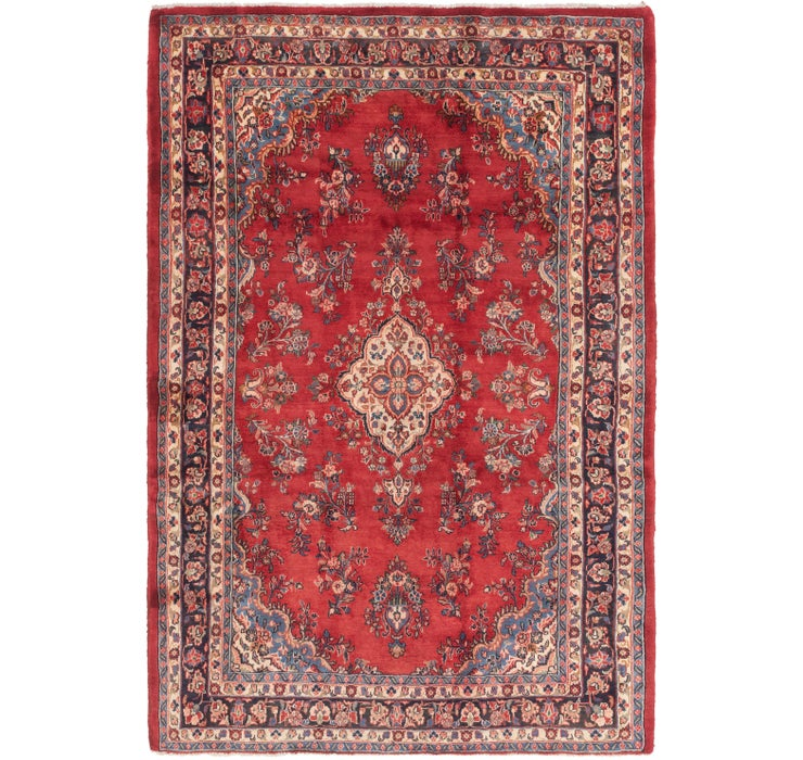7' 4 x 11' Gholtogh Persian Rug