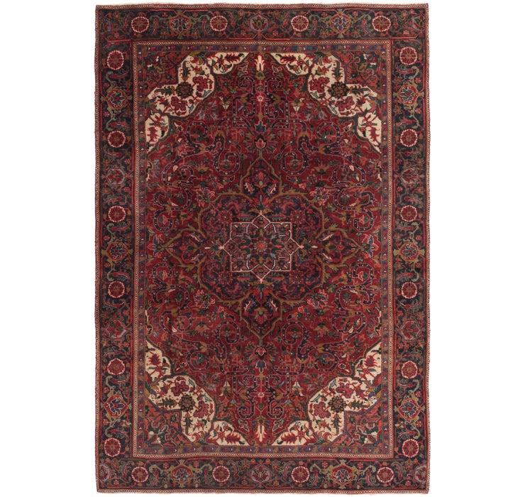 225cm x 325cm Heriz Persian Rug