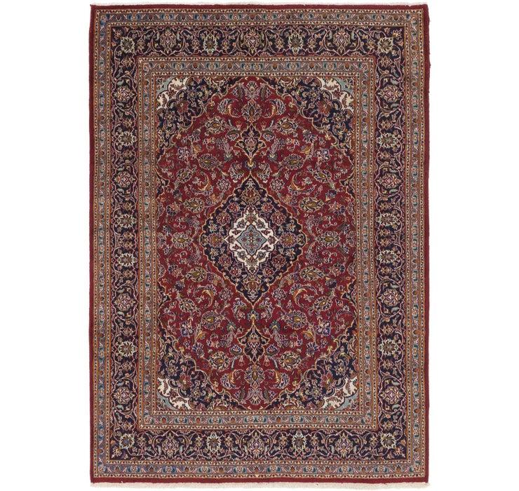 6' 6 x 9' 4 Kashan Persian Rug