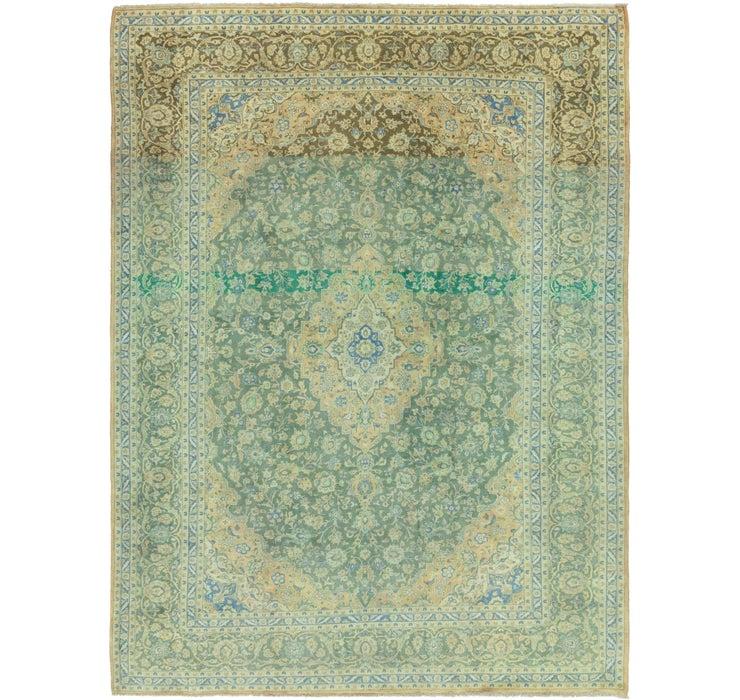 10' x 13' 4 Kashan Persian Rug