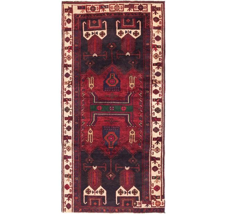 137cm x 285cm Zanjan Persian Runner Rug