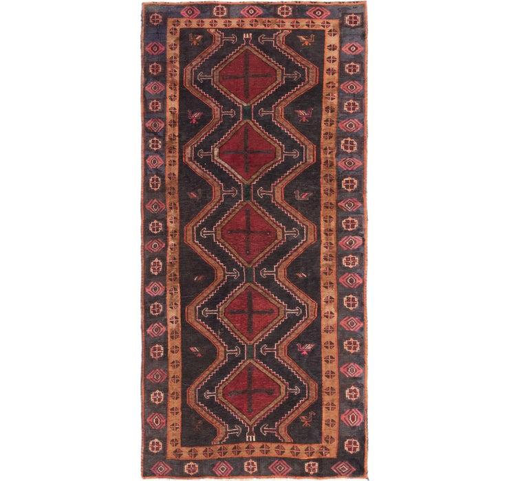 132cm x 265cm Chenar Persian Runner Rug