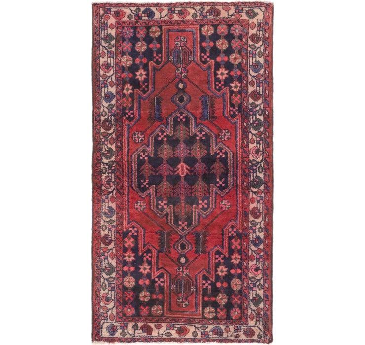 122cm x 225cm Mazlaghan Persian Rug