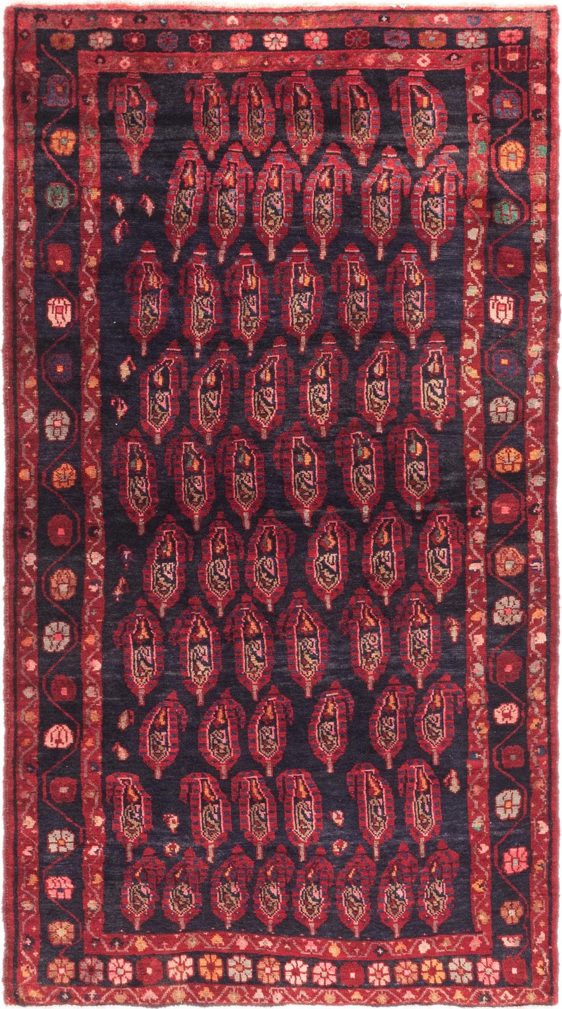 4' 2 x 7' 8 Malayer Persian Runner Rug main image