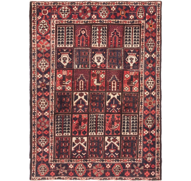 152cm x 205cm Bakhtiar Persian Rug