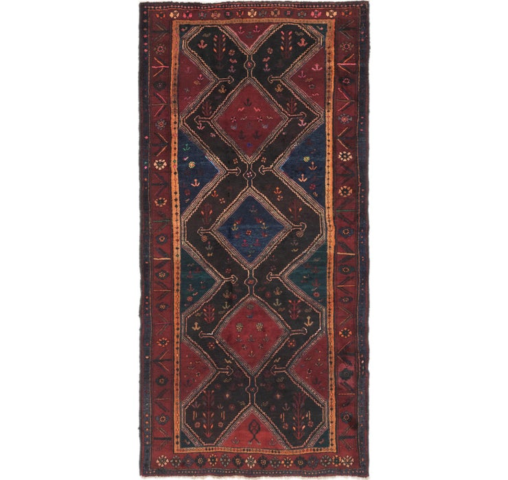 127cm x 255cm Gholtogh Persian Runner...