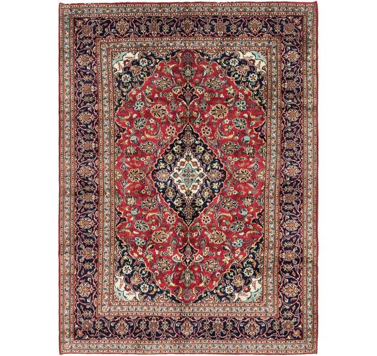 6' 6 x 9' 3 Mashad Persian Rug