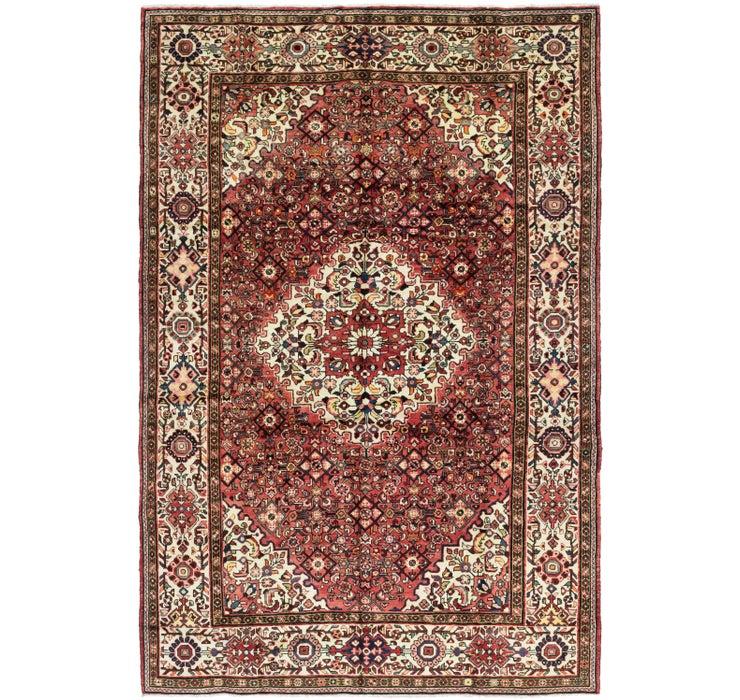 218cm x 335cm Hossainabad Persian Rug