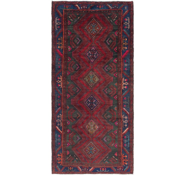 135cm x 297cm Gholtogh Persian Runner...