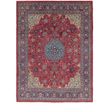 Image of 9' 8 x 13' Sarough Persian Rug