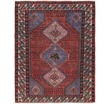 4' 9 x 6' 9 Zanjan Persian Rug main image