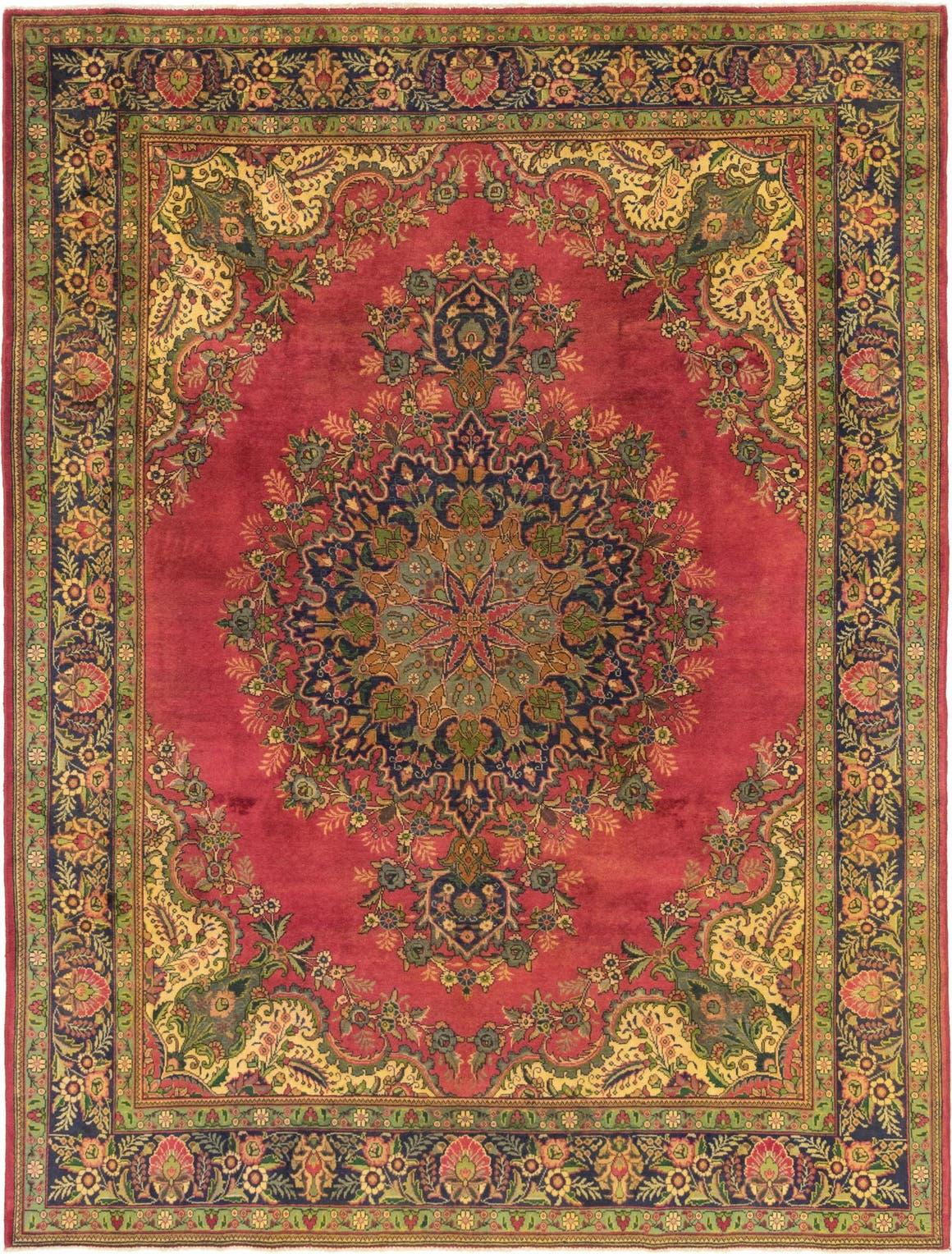 9' 7 x 12' 6 Tabriz Persian Rug main image