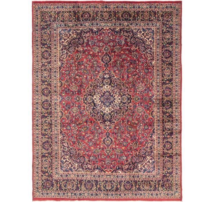 292cm x 373cm Mashad Persian Rug