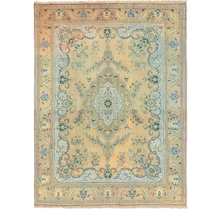 9' 10 x 13' 2 Tabriz Persian Rug