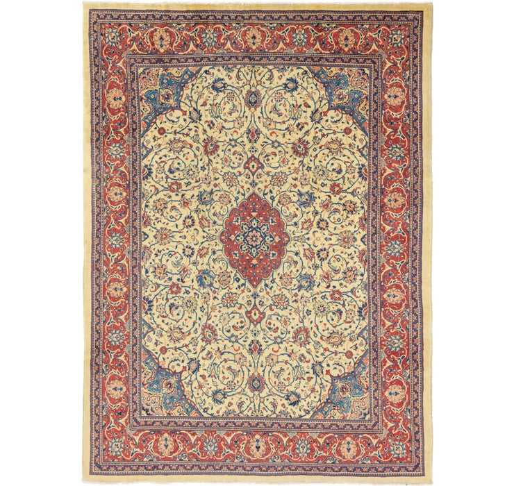 292cm x 395cm Sarough Persian Rug
