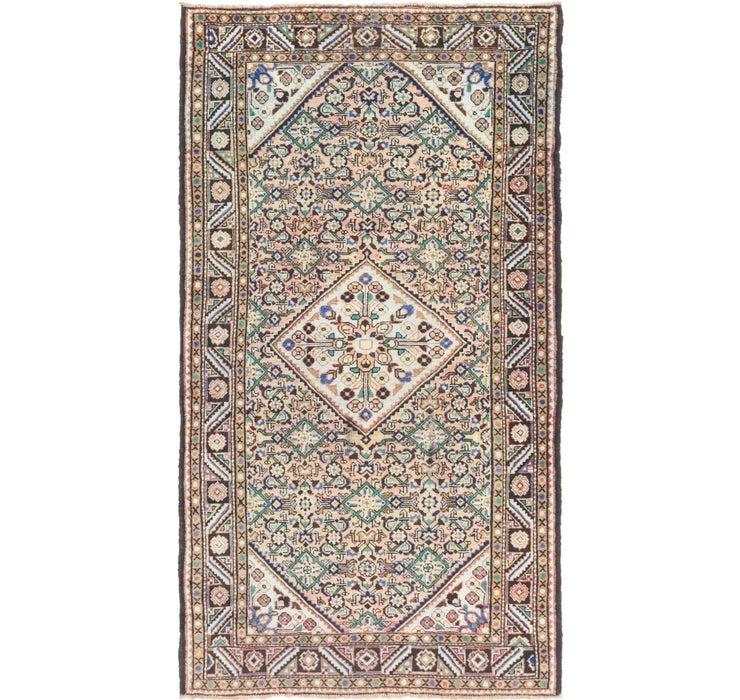 5' 6 x 10' Hossainabad Persian Rug
