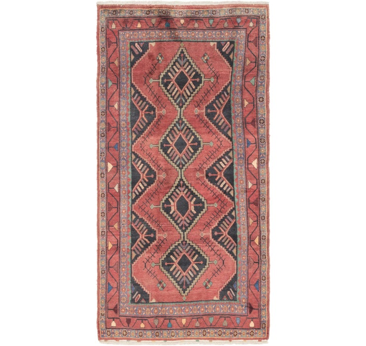 4' 5 x 9' 7 Chenar Persian Runner Rug