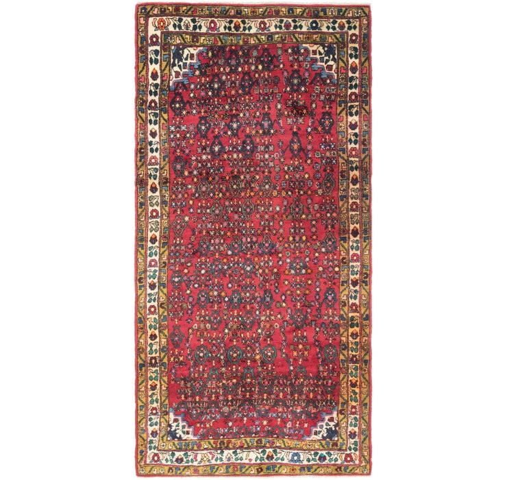 135cm x 285cm Gholtogh Persian Runner...