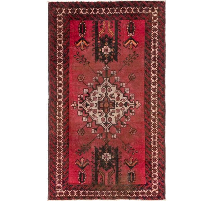 4' x 6' 8 Ferdos Persian Rug