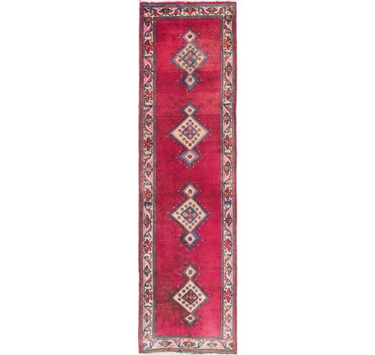 3' 4 x 11' 2 Tabriz Persian Runner Rug