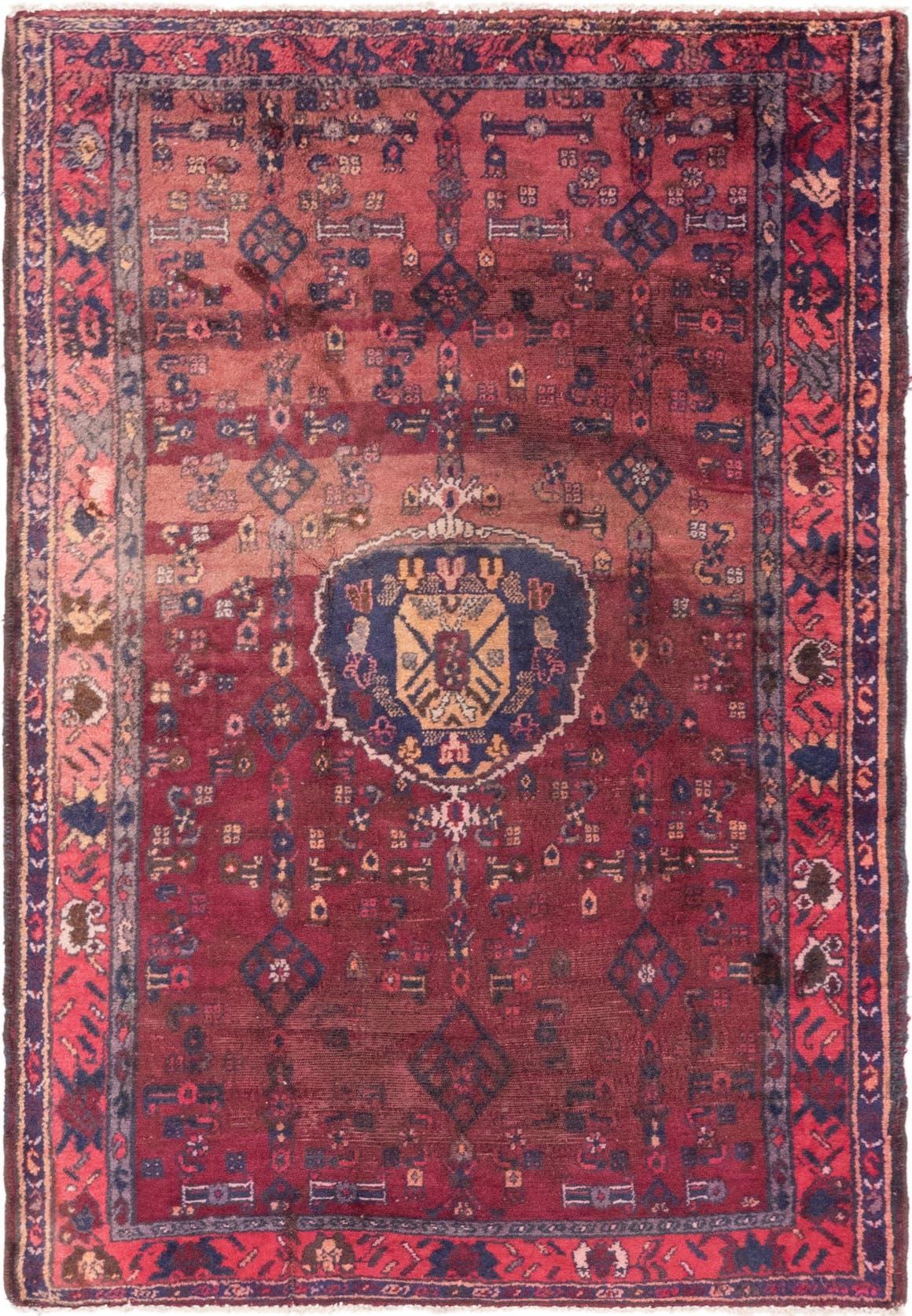 4' 4 x 6' 7 Hamedan Persian Rug main image