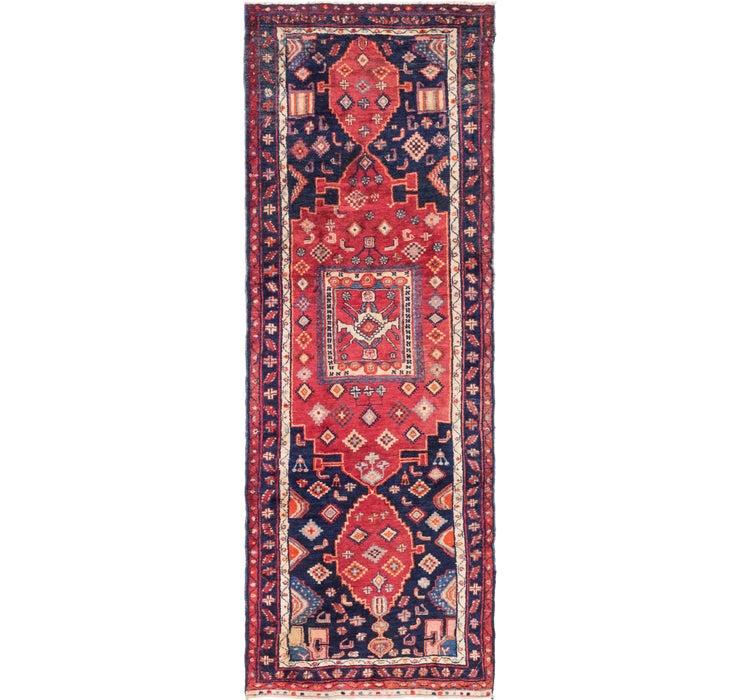 3' 10 x 10' 5 Shiraz Persian Runner Rug