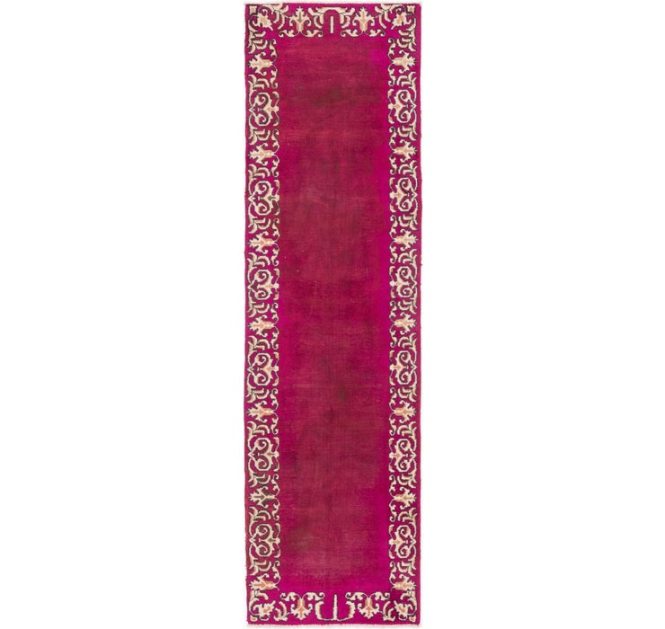 3' x 11' Tabriz Persian Runner Rug