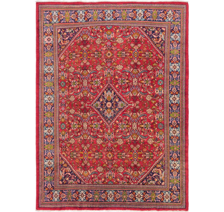 9' 8 x 13' 2 Mahal Persian Rug