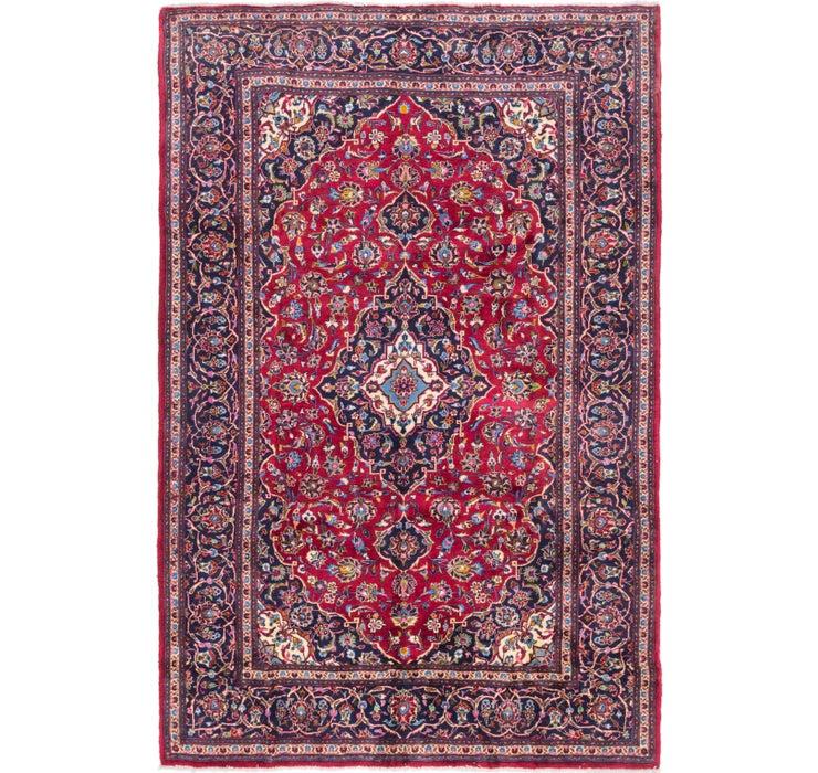 6' 8 x 10' 3 Mashad Persian Rug