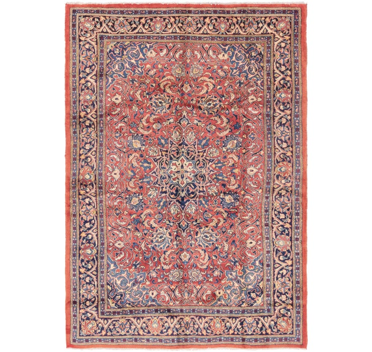 213cm x 320cm Sarough Persian Rug