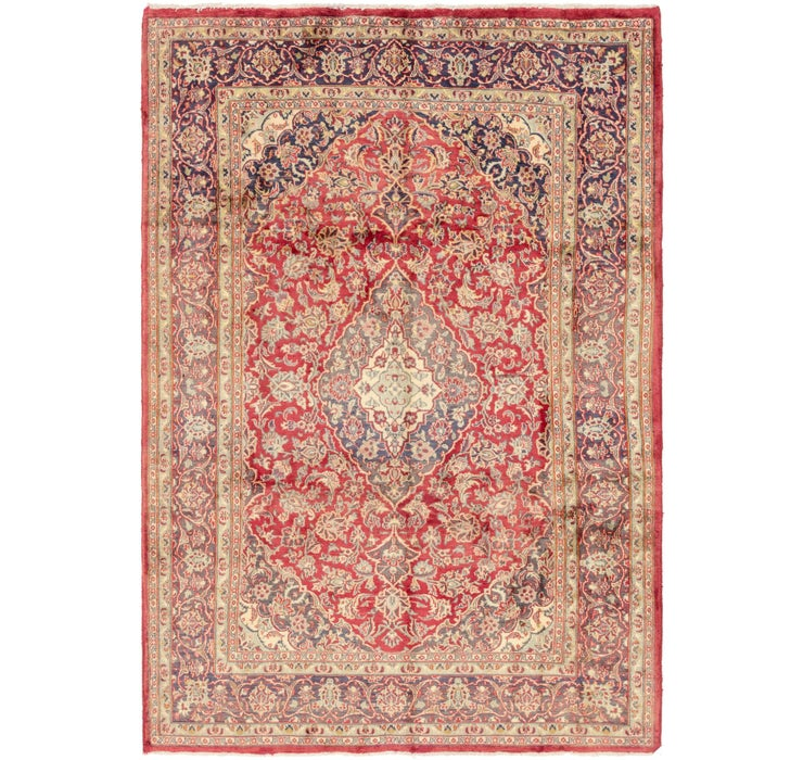 3' 5 x 9' 6 Mashad Persian Runner Rug
