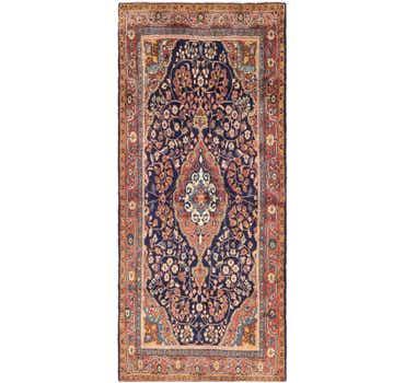 Image of 4' 6 x 10' 4 Jozan Persian Runner Rug