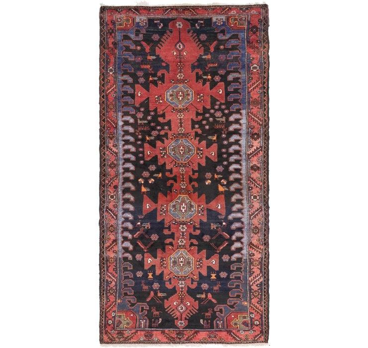 147cm x 310cm Zanjan Persian Runner Rug
