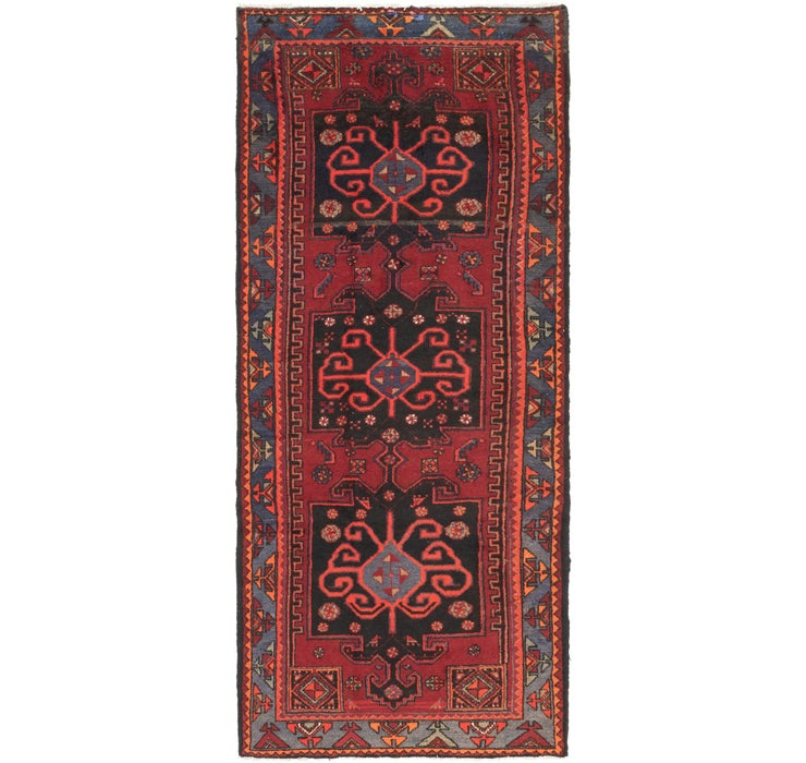 112cm x 287cm Ferdos Persian Runner Rug