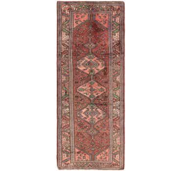 Image of 3' 7 x 10' Saveh Persian Runner Rug