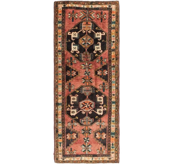 3' 10 x 10' Shiraz Persian Runner Rug