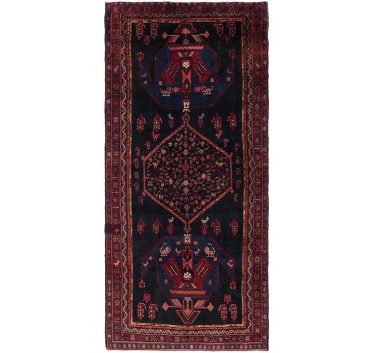 145cm x 323cm Sirjan Persian Runner Rug