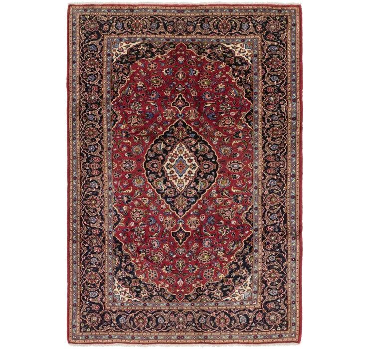 6' 8 x 10' Kashan Persian Rug