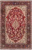 6' 9 x 10' 5 Kashan Persian Rug thumbnail