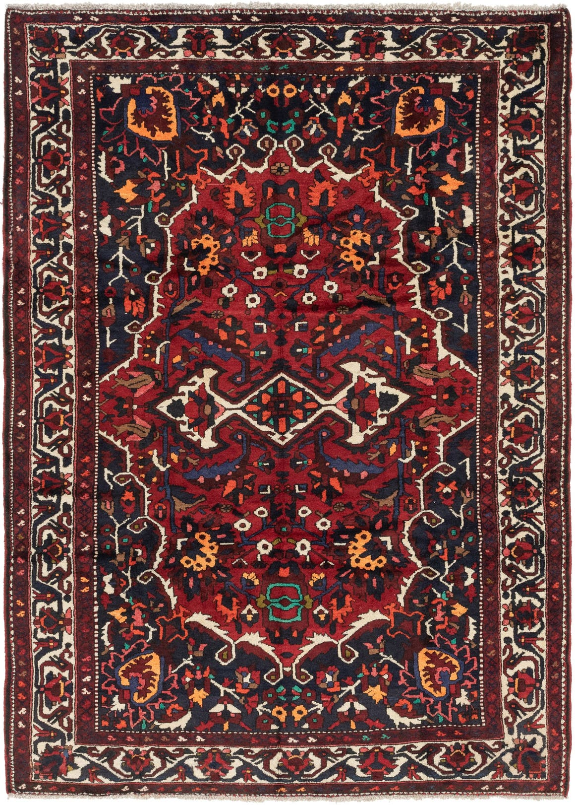 7' 4 x 10' Bakhtiar Persian Rug main image